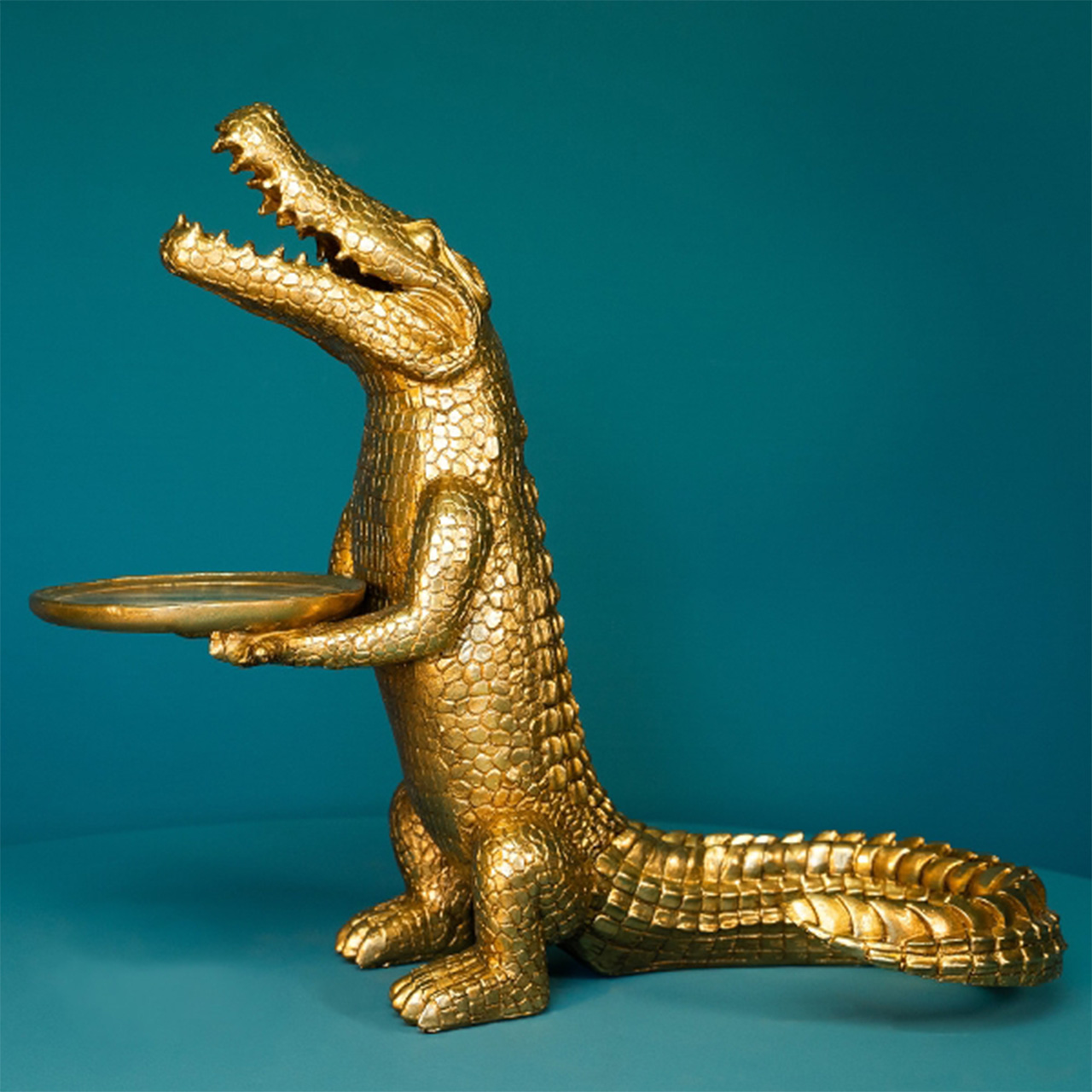 Voß Dekofigur Krokodil Morty