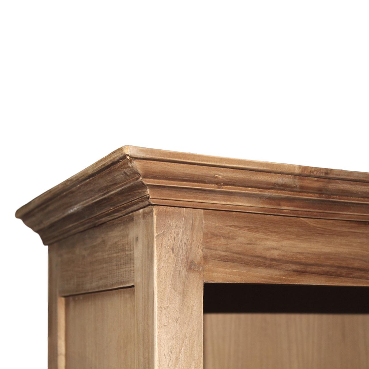 Wooden Art Büchherregal mit Leiter
