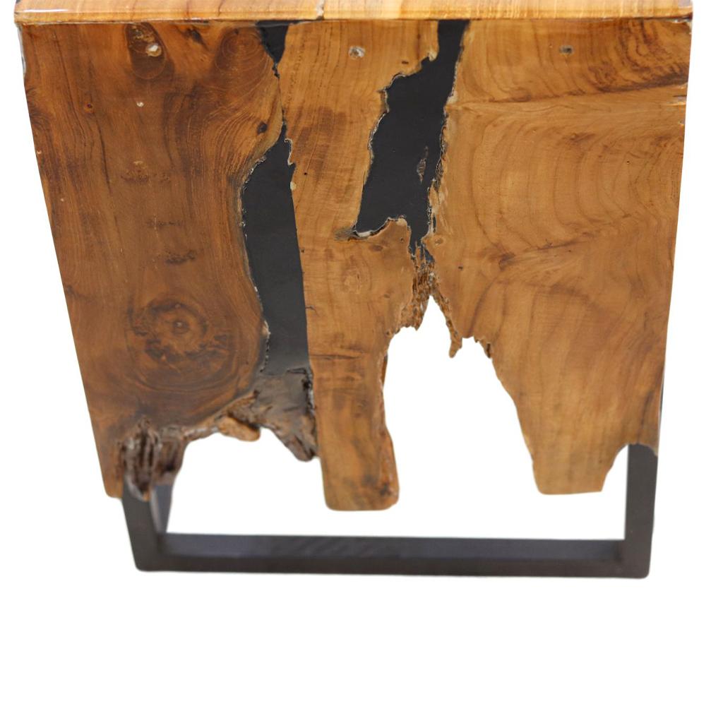 Wooden Art Beistelltisch epoxy