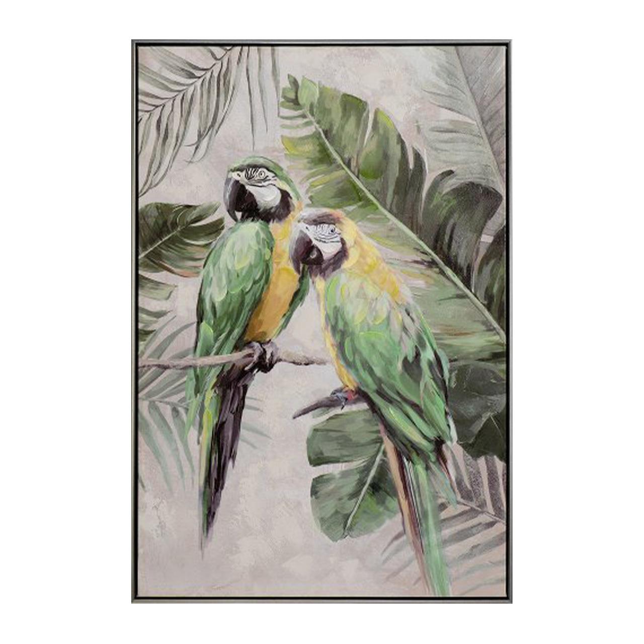 Imageland Bild Grün-gelbe Papageien