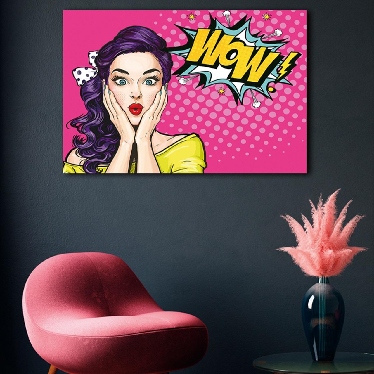 Imageland Bild Pop Art WOW