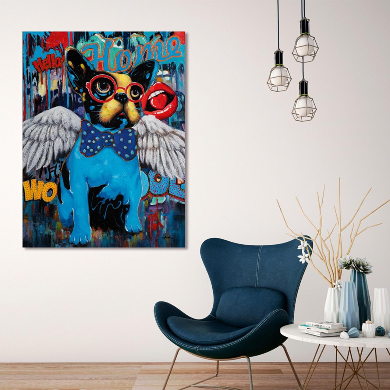 Imageland Bild Pop Art Hund
