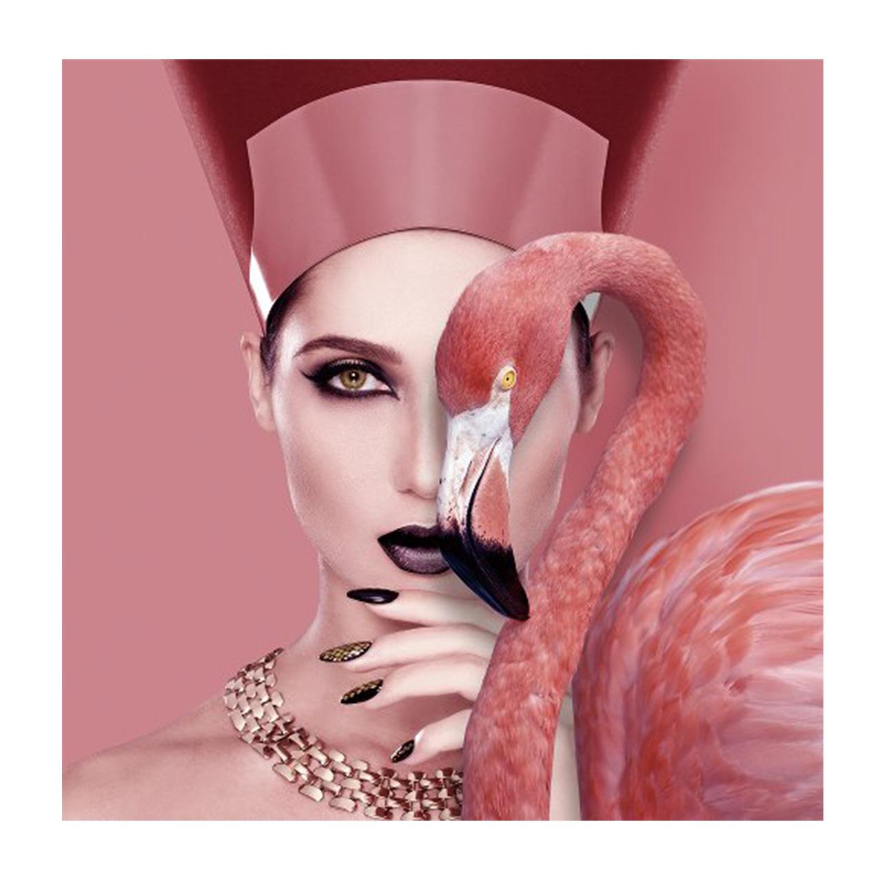 Imageland Bild Kleopatra mit Flamingo